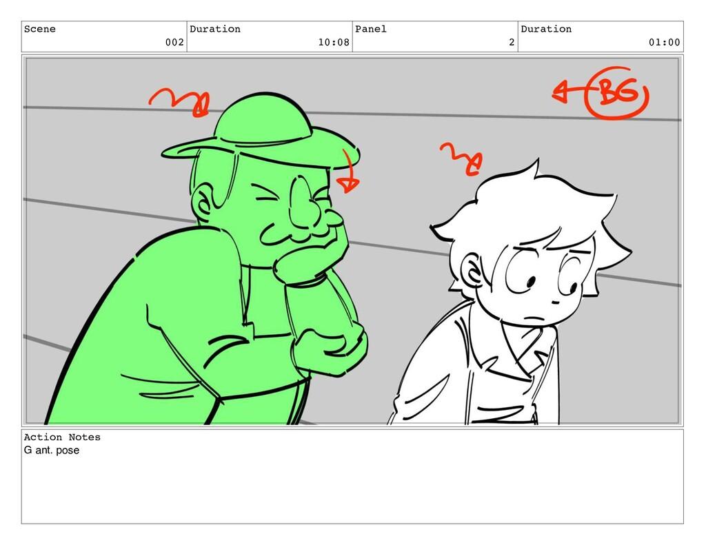 Scene 002 Duration 10:08 Panel 2 Duration 01:00...