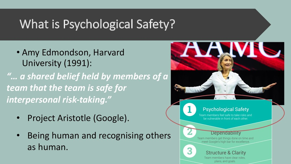 What is Psychological Safety? • Amy Edmondson, ...