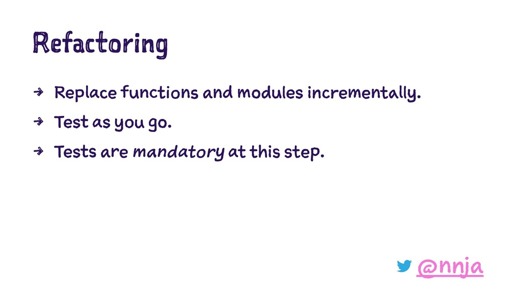 Refactoring 4 Replace functions and modules inc...