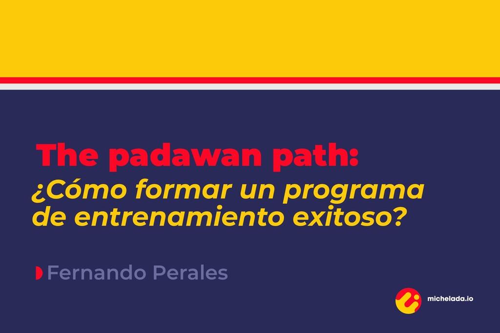Fernando Perales ¿Cómo formar un programa de en...