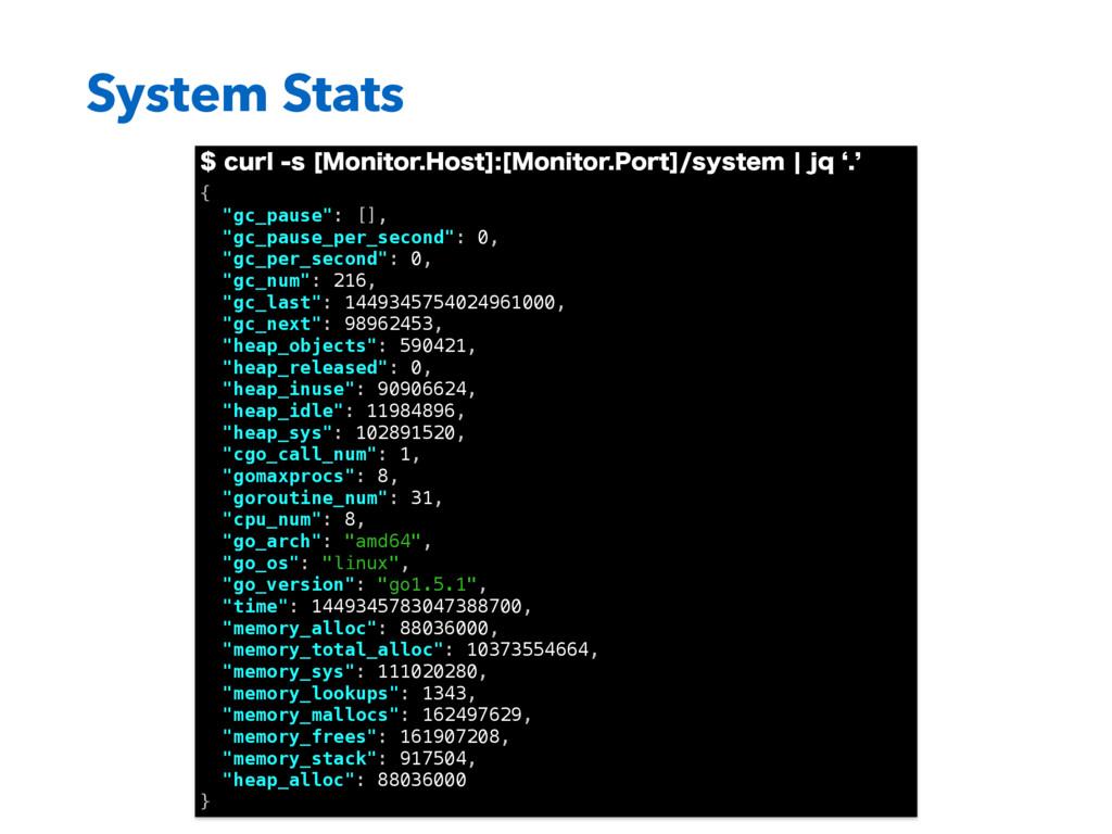 System Stats DVSMT<.POJUPS)PTU><.POJUPS...