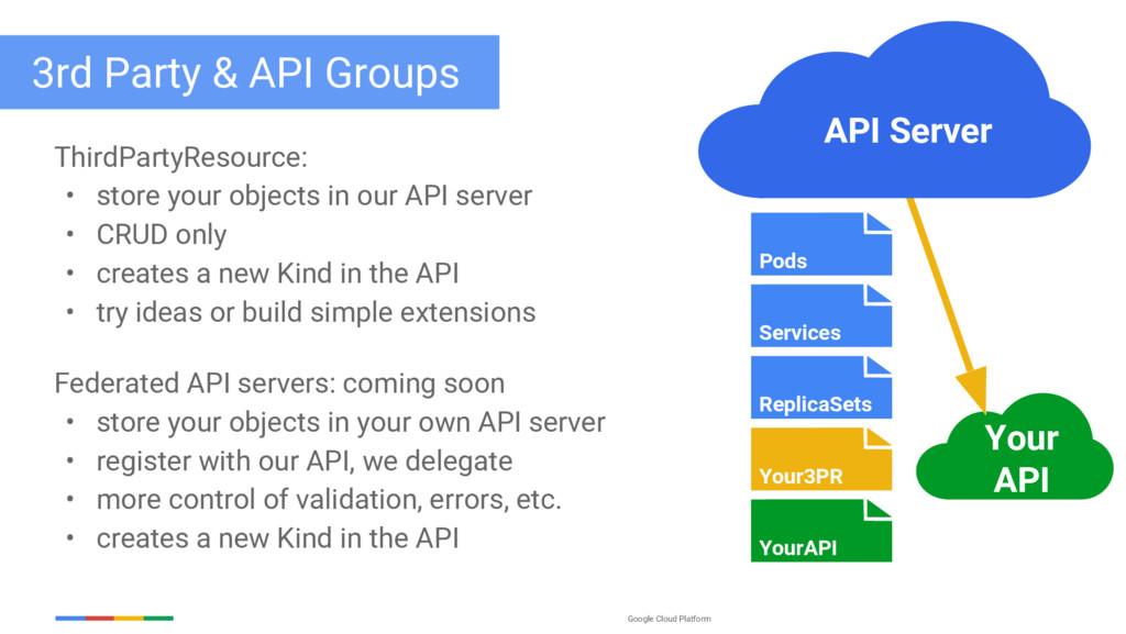 Google Cloud Platform 3rd Party & API Groups Th...