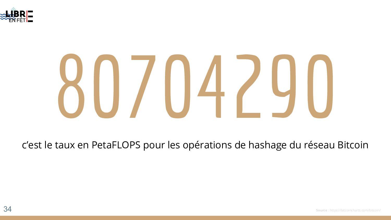 80704290 c'est le taux en PetaFLOPS pour les op...