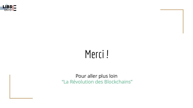 """Merci ! Pour aller plus loin """"La Révolution des..."""