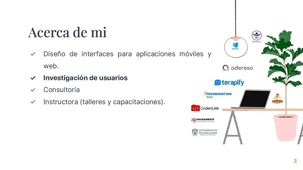 ✓ Diseño de interfaces para aplicaciones móvile...