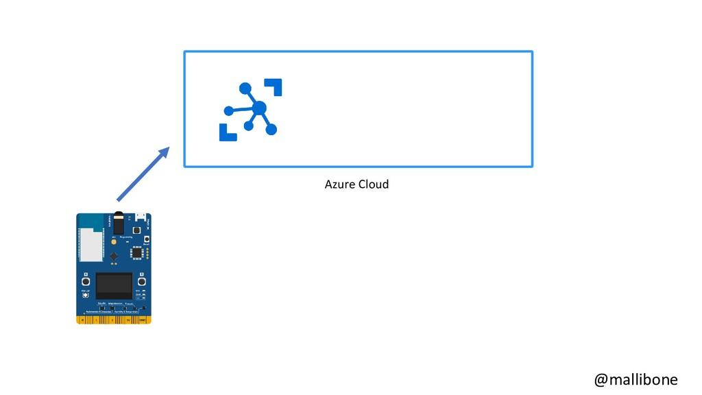 @mallibone Azure Cloud