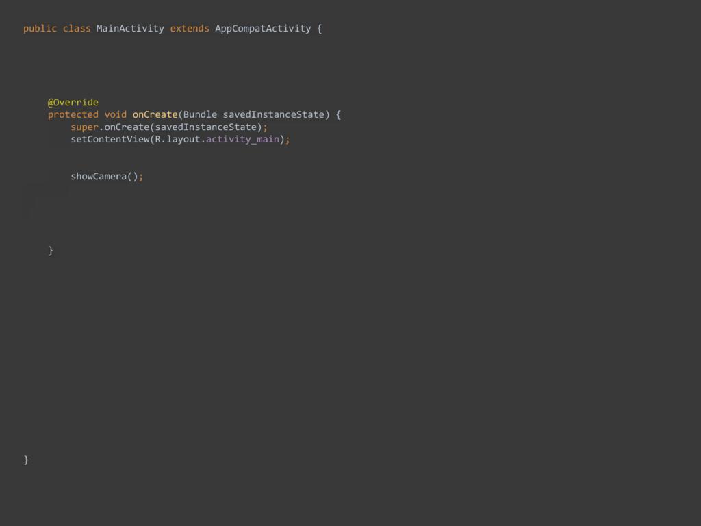 public class MainActivity extends AppCompatActi...