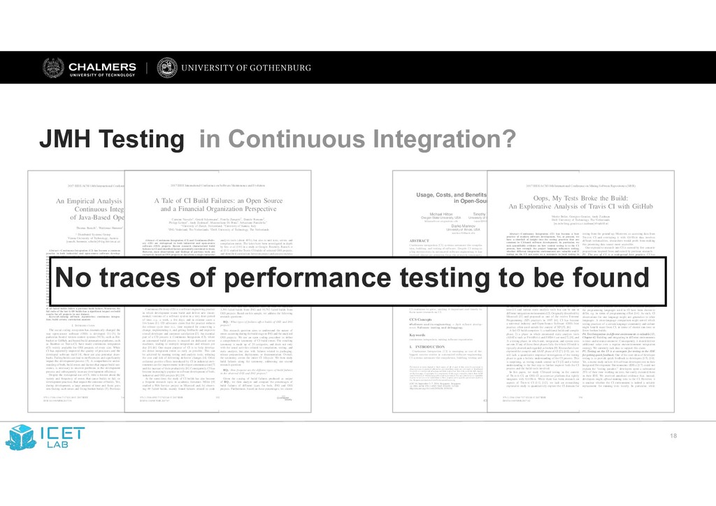 !18 JMH Testing in Continuous Integration? Usag...