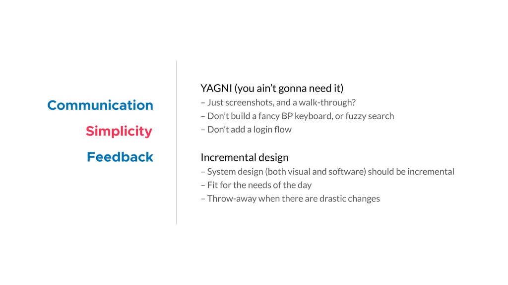 YAGNI (you ain't gonna need it) – Just screensh...