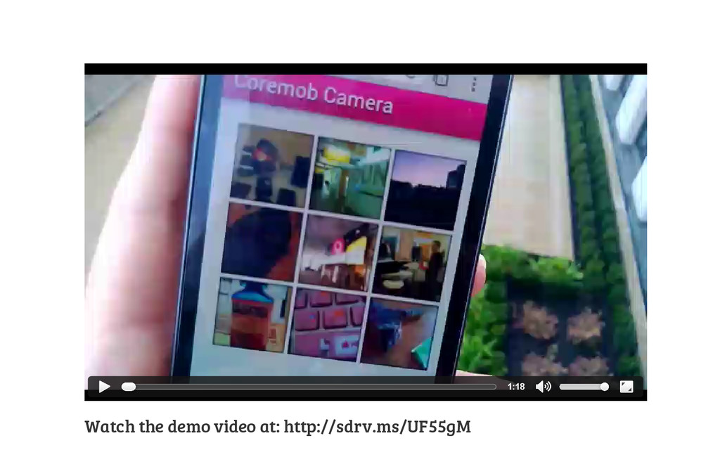 Watch the demo video at: http://sdrv.ms/UF55gM ...