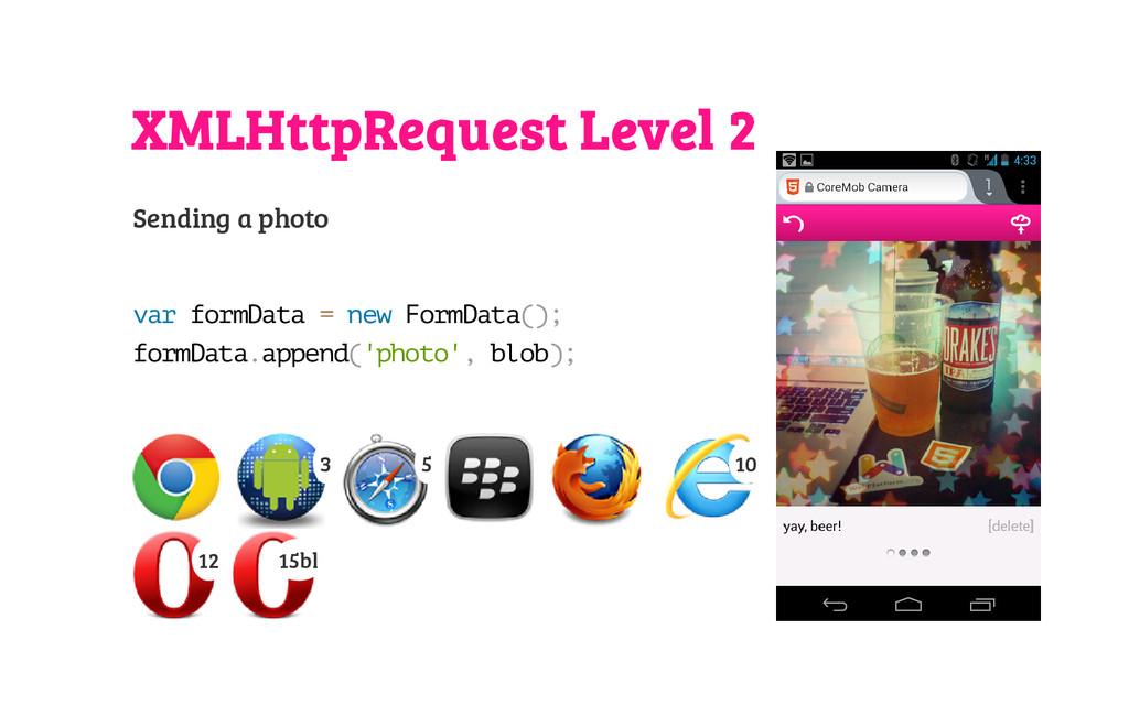 XMLHttpRequest Level 2 Sending a photo v a r f ...