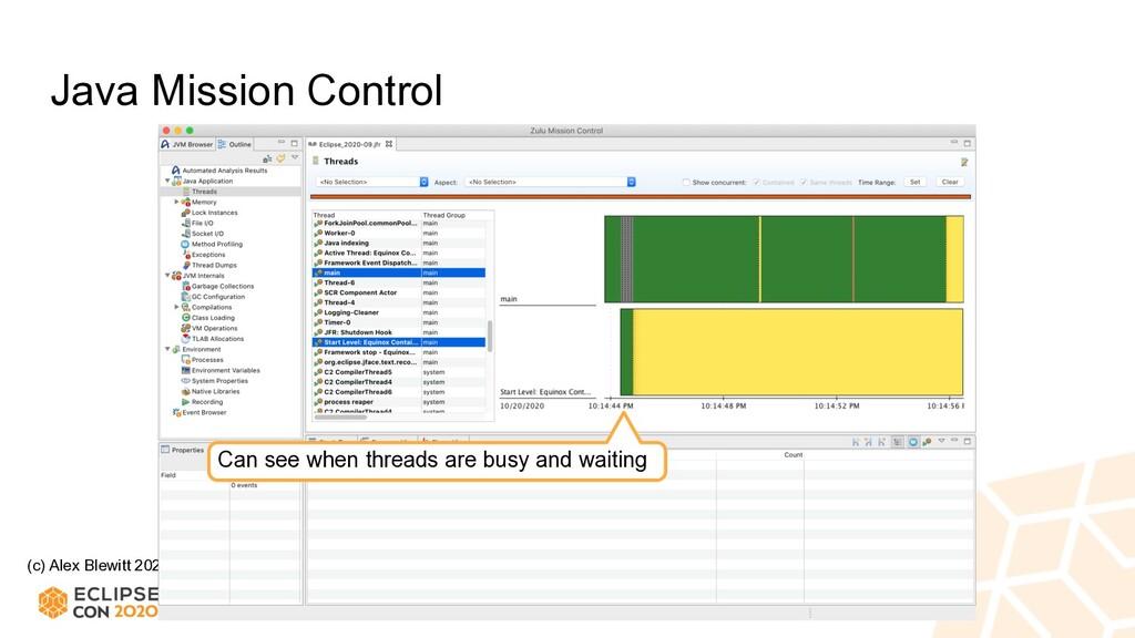 (c) Alex Blewitt 2020 Java Mission Control Can ...