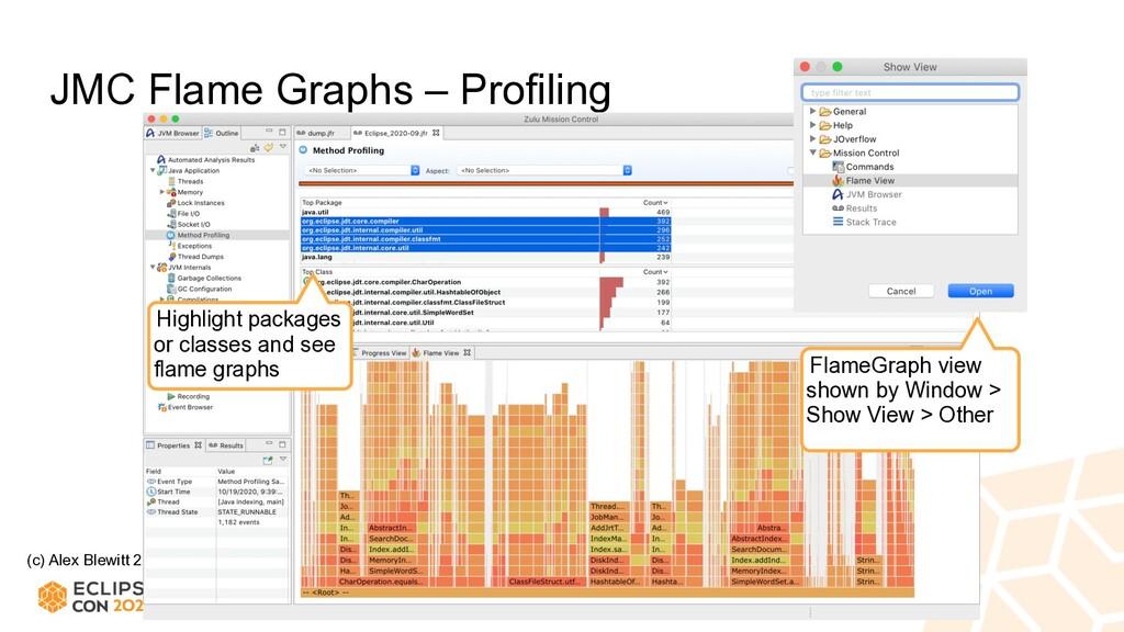 (c) Alex Blewitt 2020 JMC Flame Graphs – Profil...