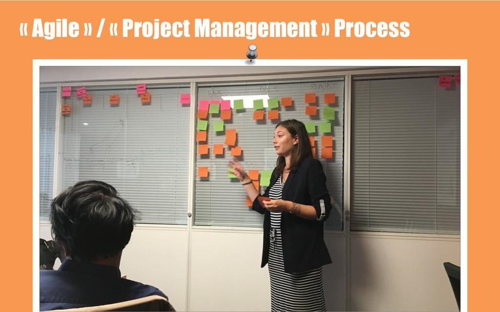 « Agile » / « Project Management » Process