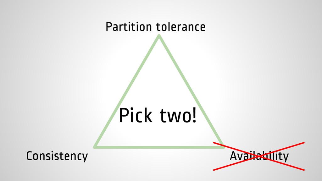 Consistency Availability Partition tolerance Pi...