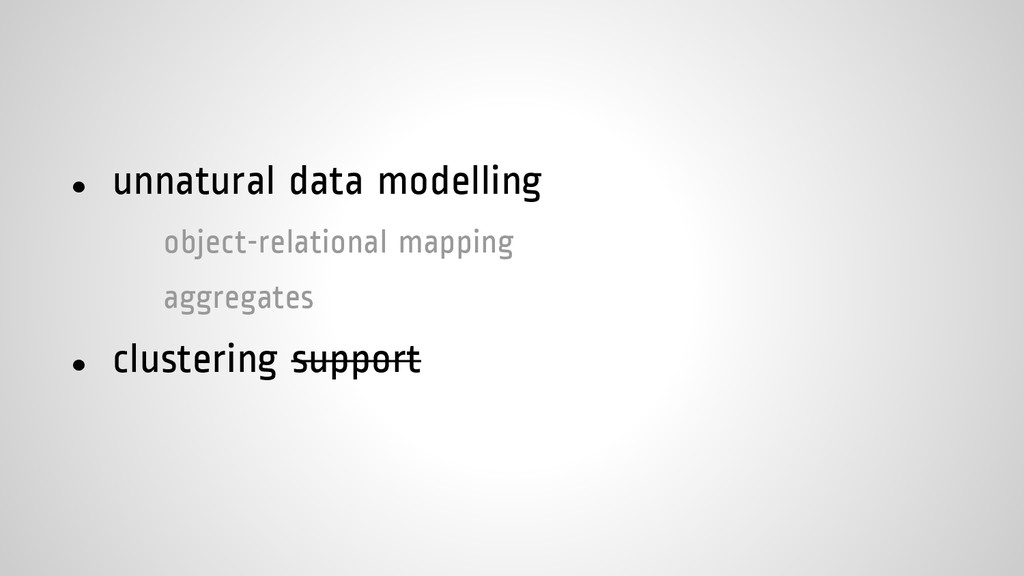 ● unnatural data modelling object-relational ma...