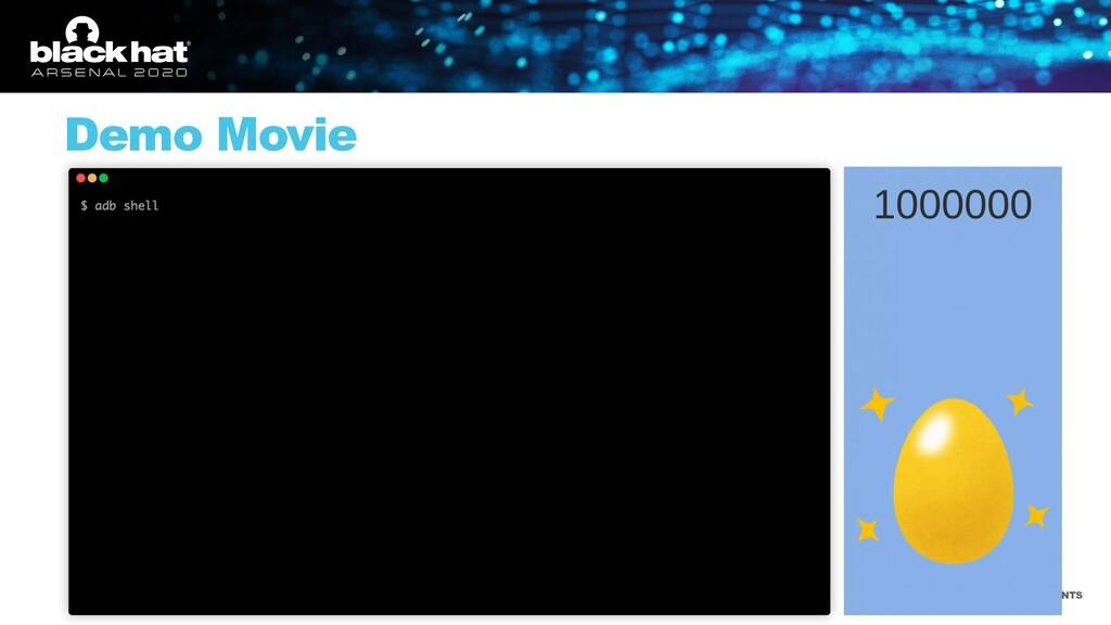 #BHUSA @BLACKHATEVENTS Demo Movie