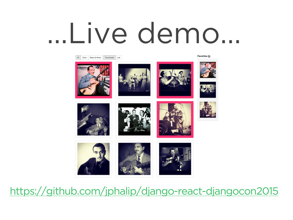 CONNECTED PERSONAL OBJECTS 5/2012 …Live demo… h...