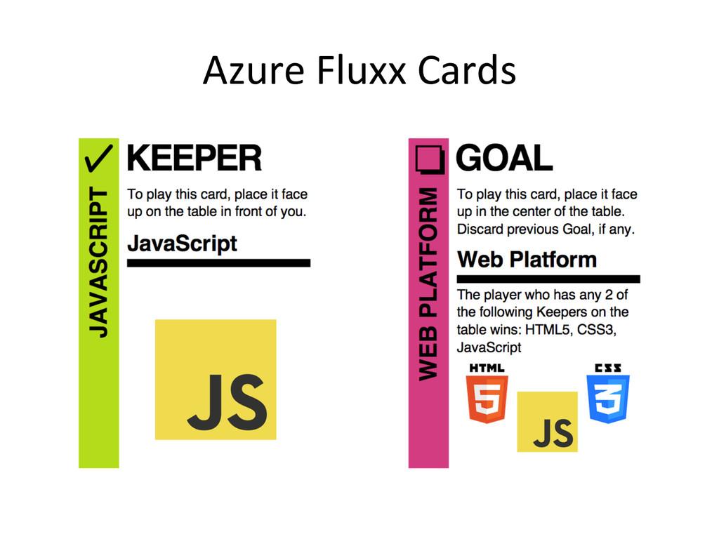 Azure Fluxx Cards