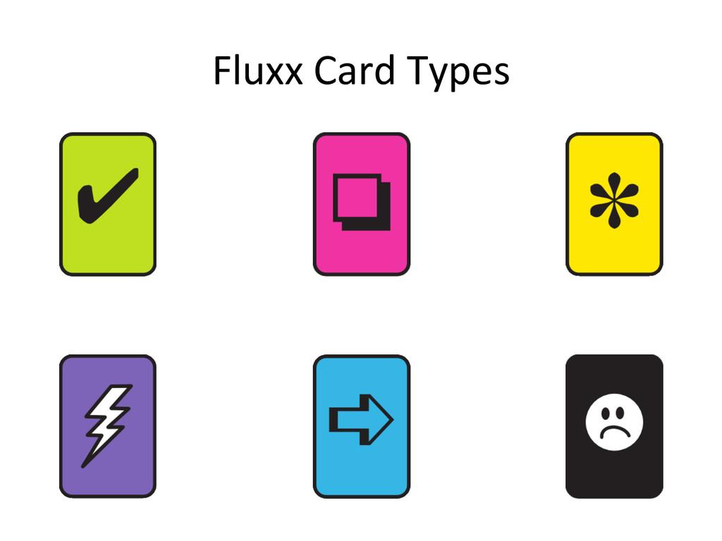 Fluxx Card Types