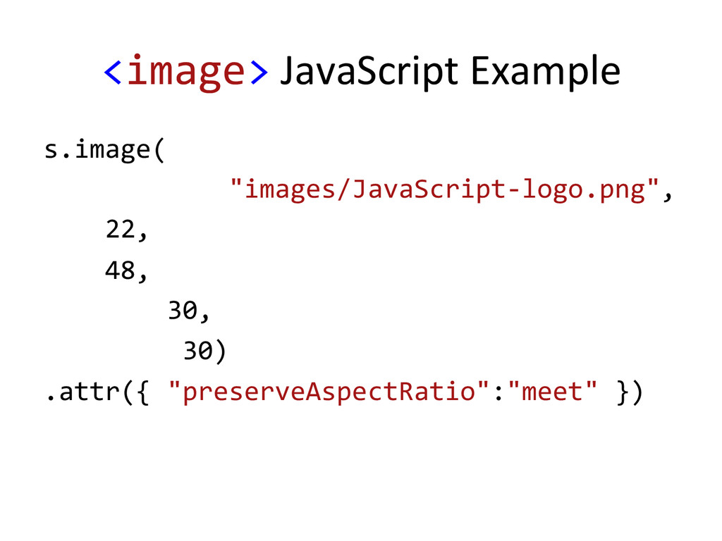 <image> JavaScript Example  s.image(...