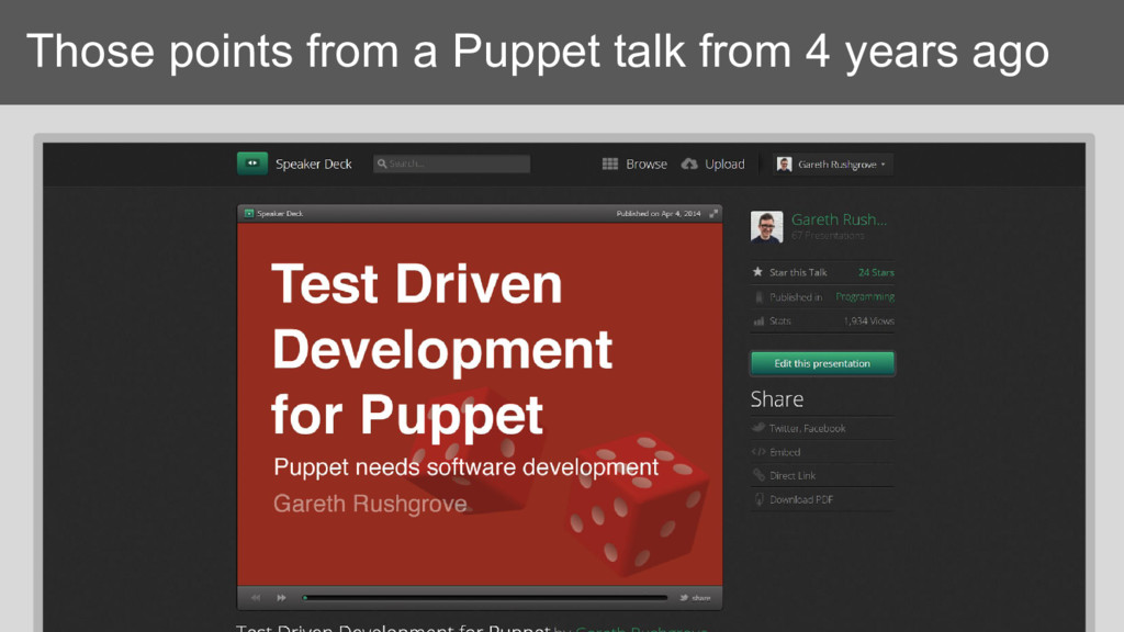 Those points from a Puppet talk from 4 years ago
