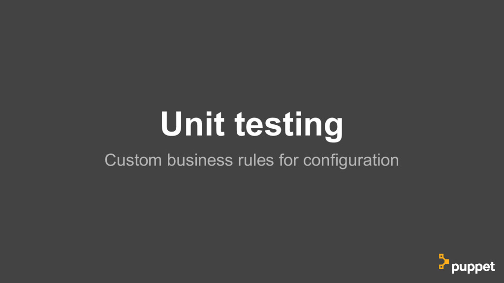 Unit testing Custom business rules for configur...