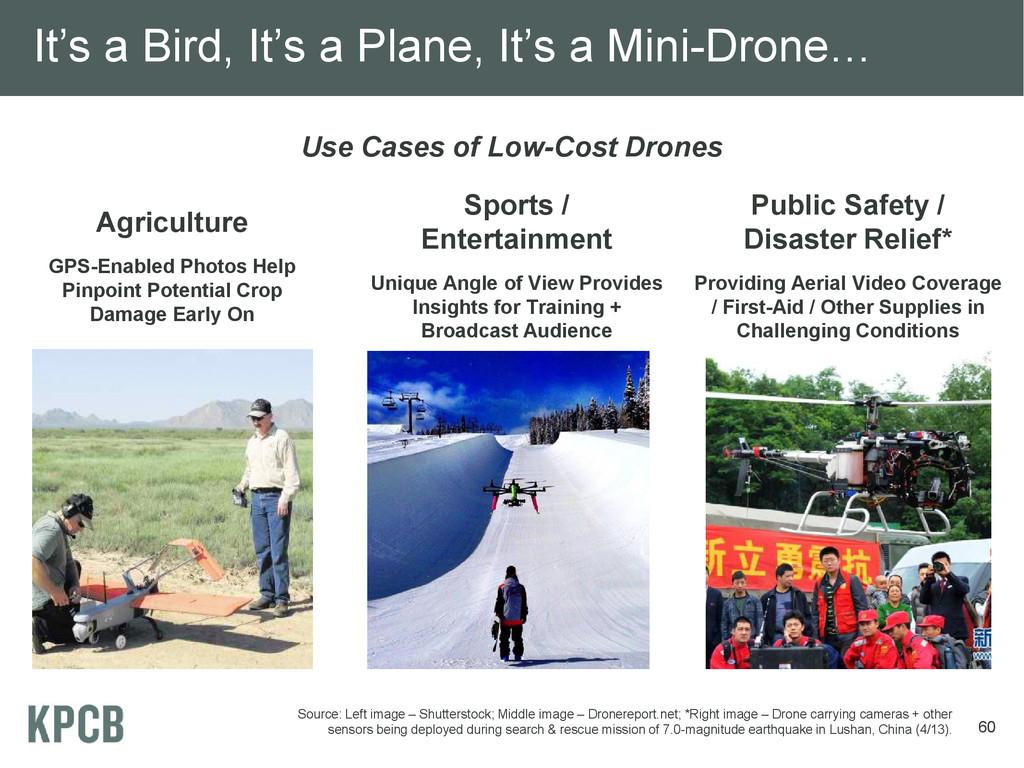 It's a Bird, It's a Plane, It's a Mini-Drone… U...