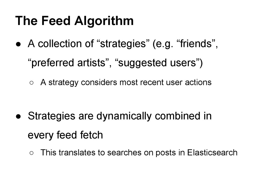 """● A collection of """"strategies"""" (e.g. """"friends"""",..."""