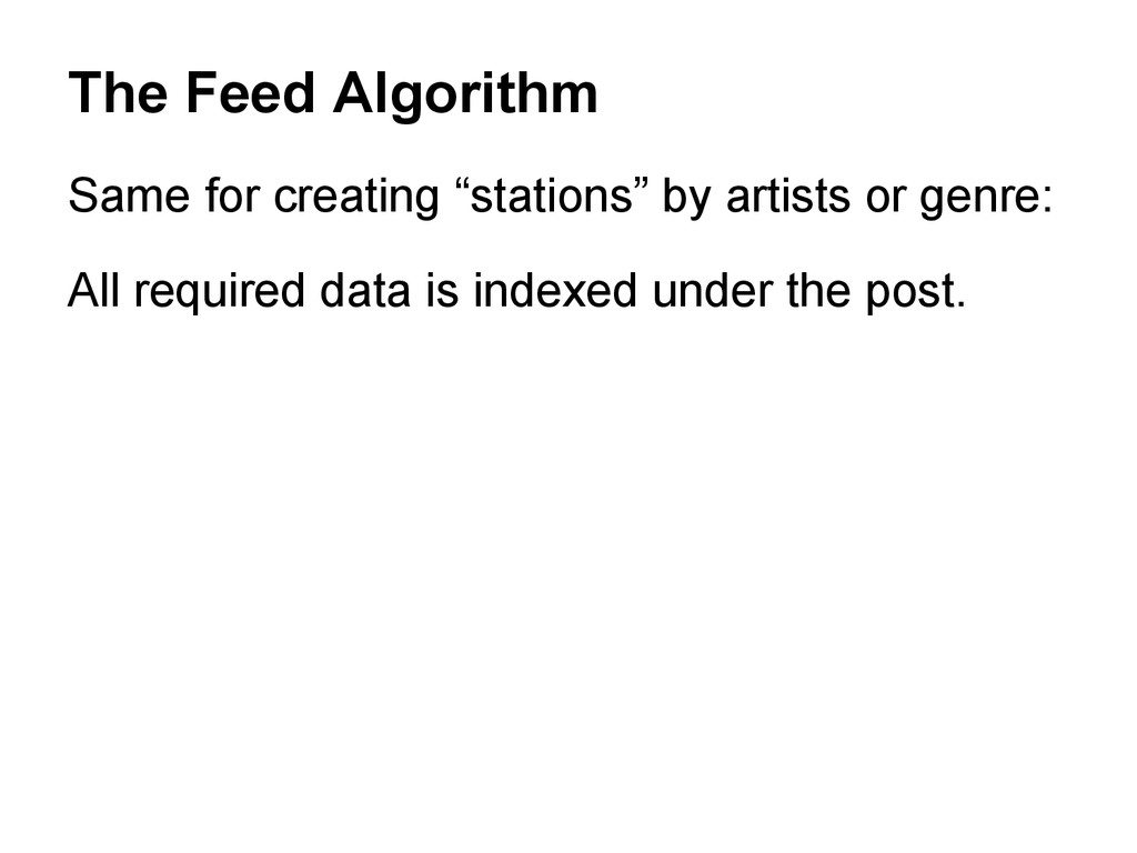 """Same for creating """"stations"""" by artists or genr..."""