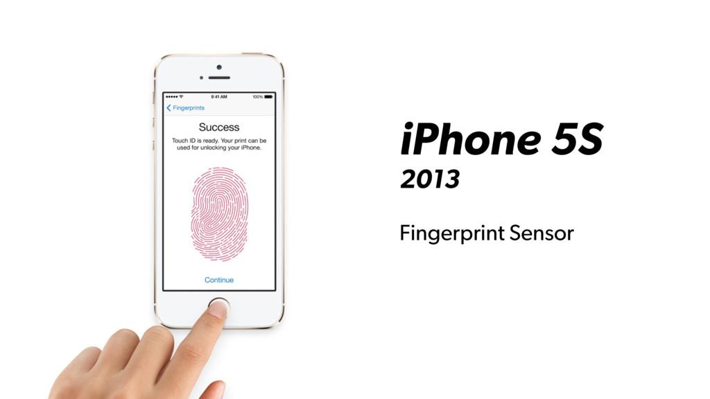 iPhone 5S 2013 Fingerprint Sensor