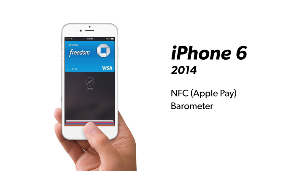 iPhone 6 2014 NFC (Apple Pay) Barometer