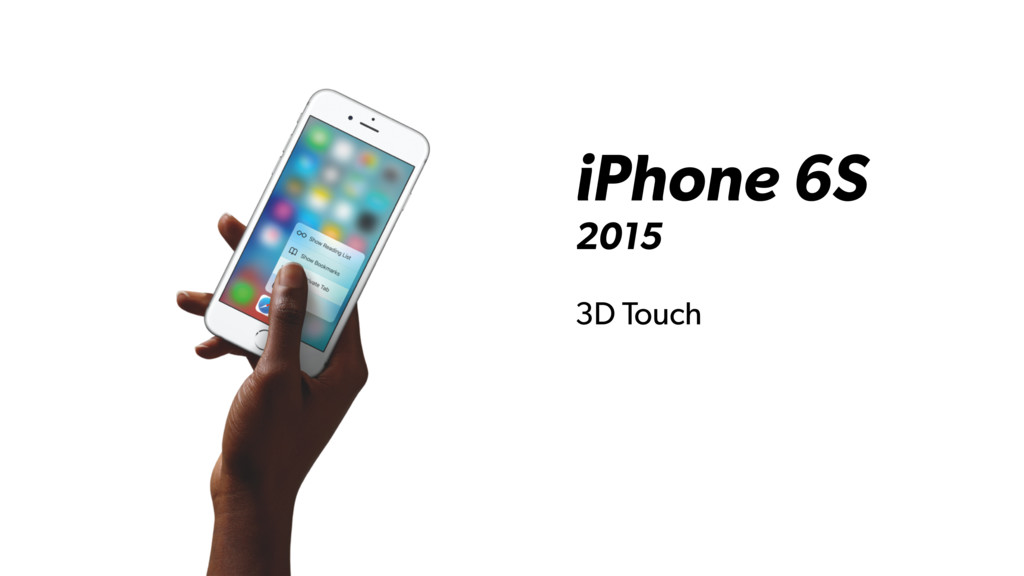 iPhone 6S 2015 3D Touch