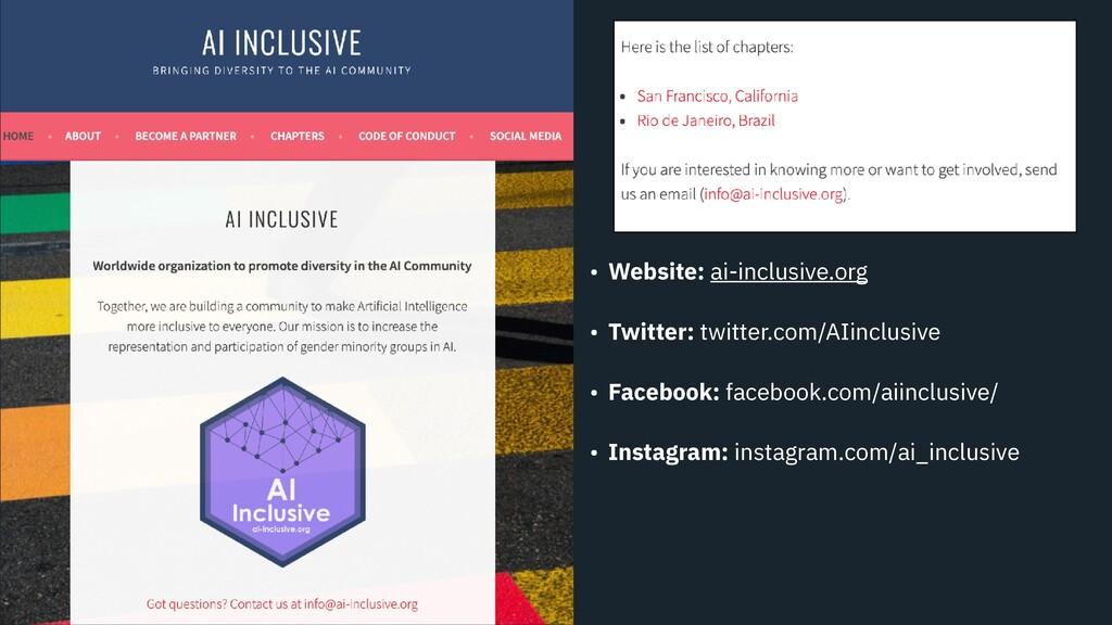 • Website: ai-inclusive.org • Twitter: twitter....