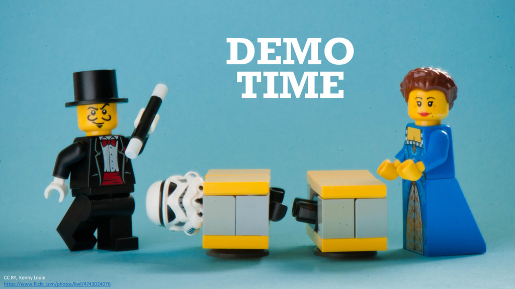 DEMO TIME CC BY, Kenny Louie https://www.flickr...