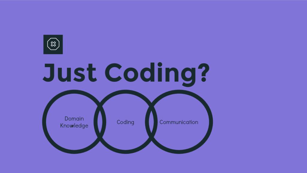 Just Coding? Coding Domain Knowledge Communicat...