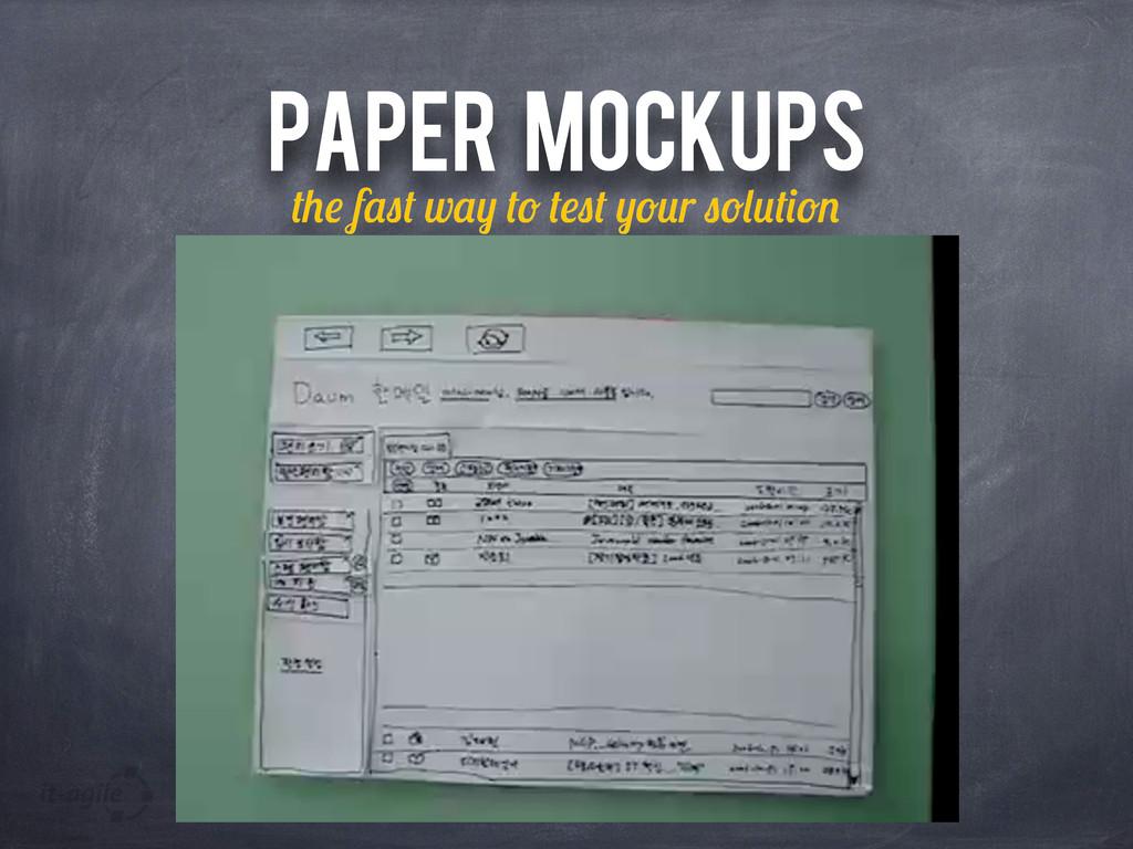 PAPER MOCKUPS f w r