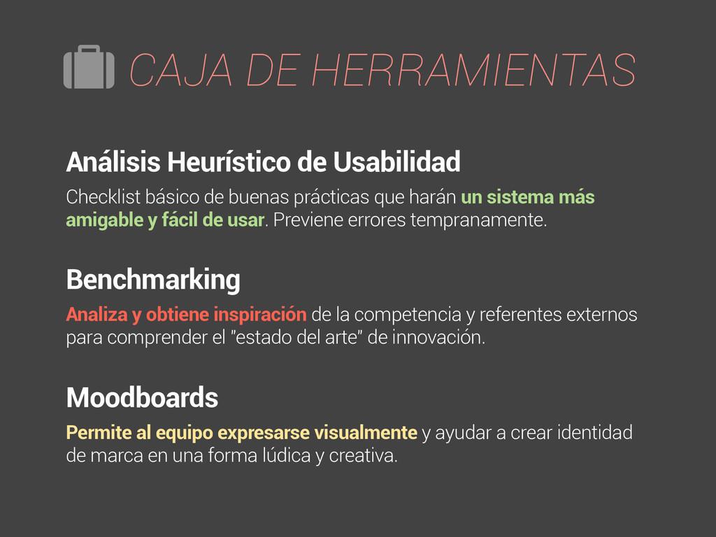 Análisis Heurístico de Usabilidad Checklist bás...