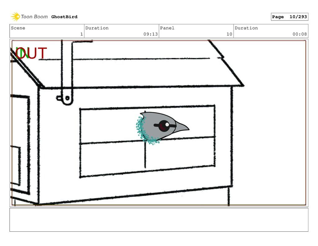 Scene 1 Duration 09:13 Panel 10 Duration 00:08 ...