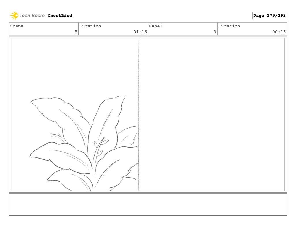 Scene 5 Duration 01:16 Panel 3 Duration 00:16 G...
