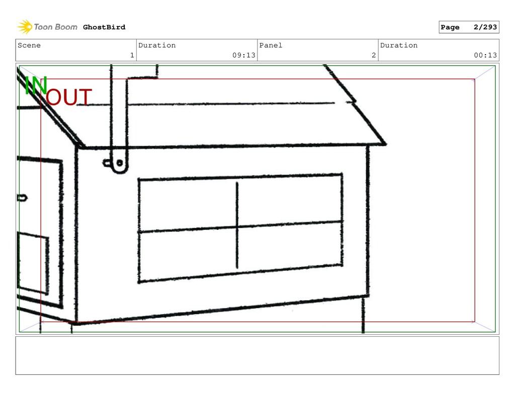 Scene 1 Duration 09:13 Panel 2 Duration 00:13 G...