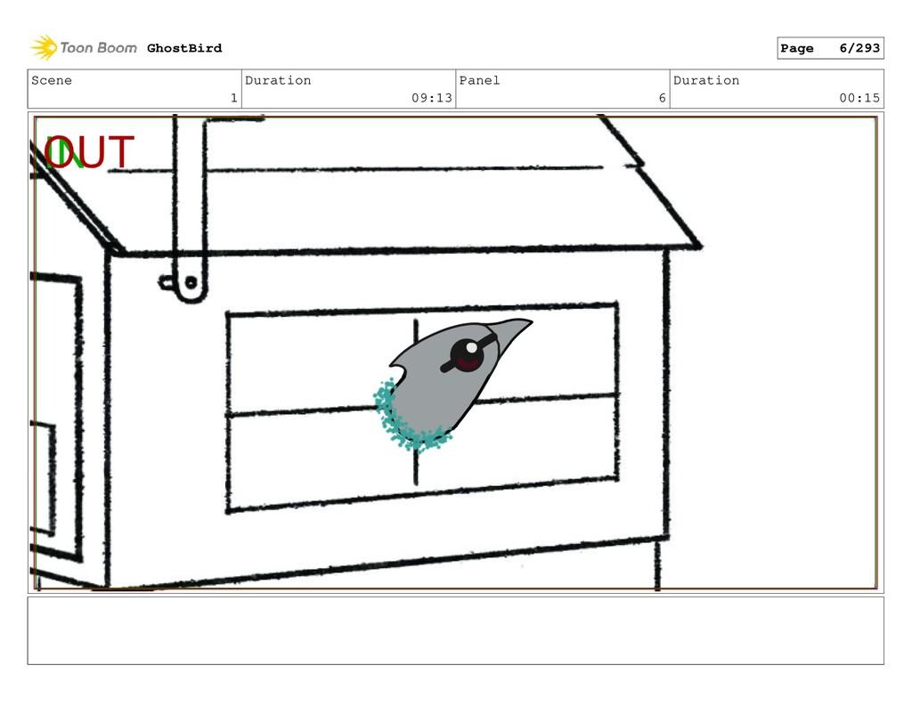 Scene 1 Duration 09:13 Panel 6 Duration 00:15 G...