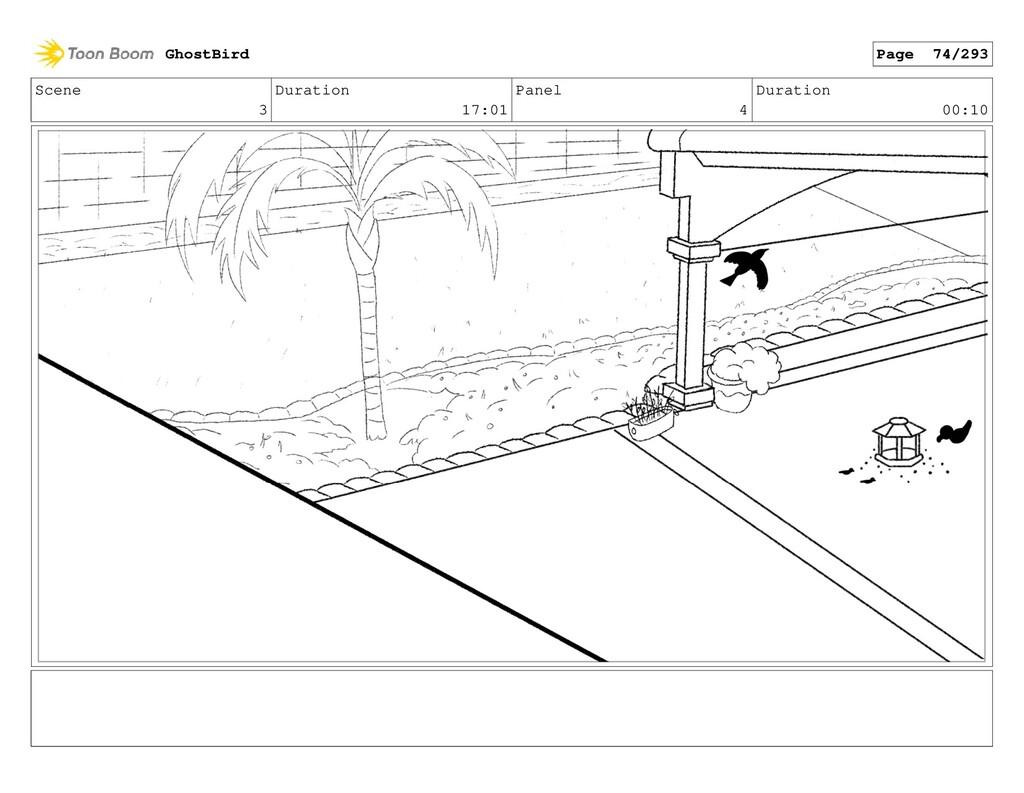 Scene 3 Duration 17:01 Panel 4 Duration 00:10 G...