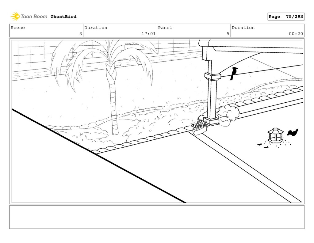 Scene 3 Duration 17:01 Panel 5 Duration 00:20 G...