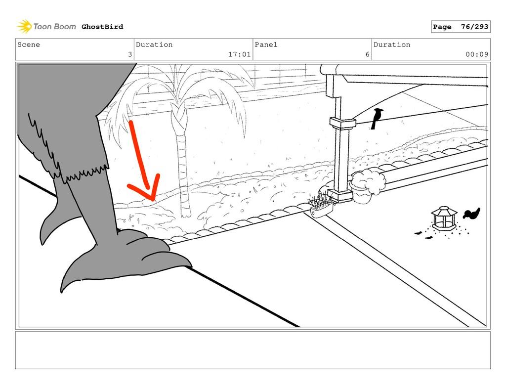 Scene 3 Duration 17:01 Panel 6 Duration 00:09 G...