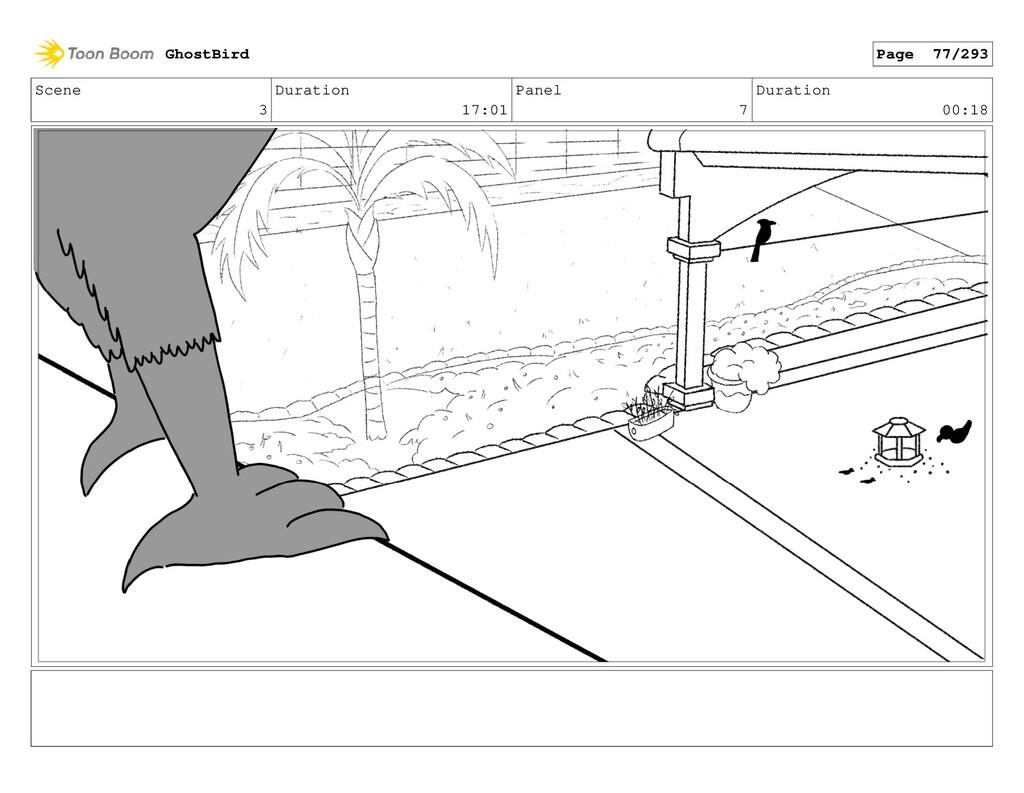 Scene 3 Duration 17:01 Panel 7 Duration 00:18 G...