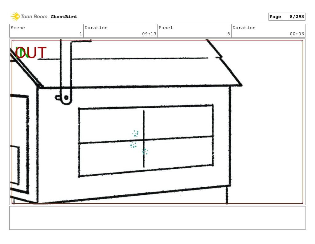 Scene 1 Duration 09:13 Panel 8 Duration 00:06 G...