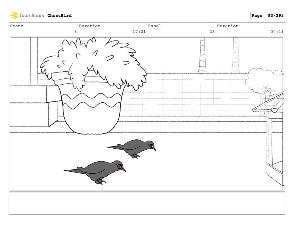 Scene 3 Duration 17:01 Panel 23 Duration 00:11 ...