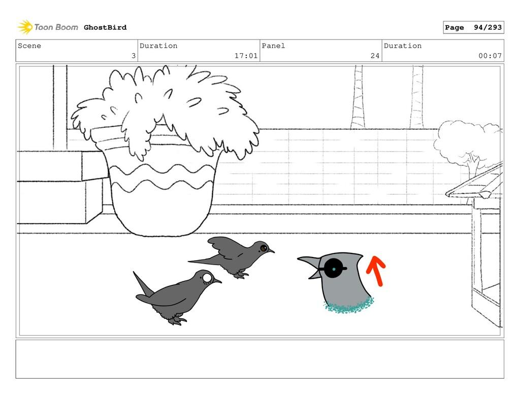 Scene 3 Duration 17:01 Panel 24 Duration 00:07 ...