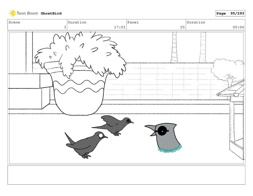 Scene 3 Duration 17:01 Panel 25 Duration 00:06 ...